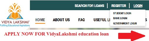 VidyaLakshmi education loan