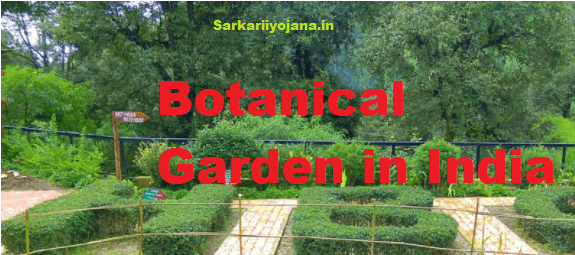 Botanical Garden in India