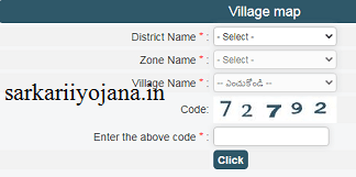 Village Map Meebhumi portal