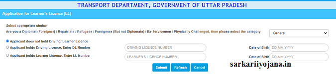 Driving Learner Licence