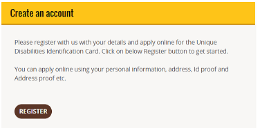 """apply online for the Unique Disabilities Identification Card"""""""